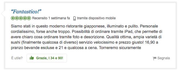 ipratico menu interattivo su ipad tripadvisor recensioni4