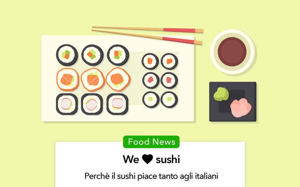 Sushi: perchè piace così tanto agli italiani?