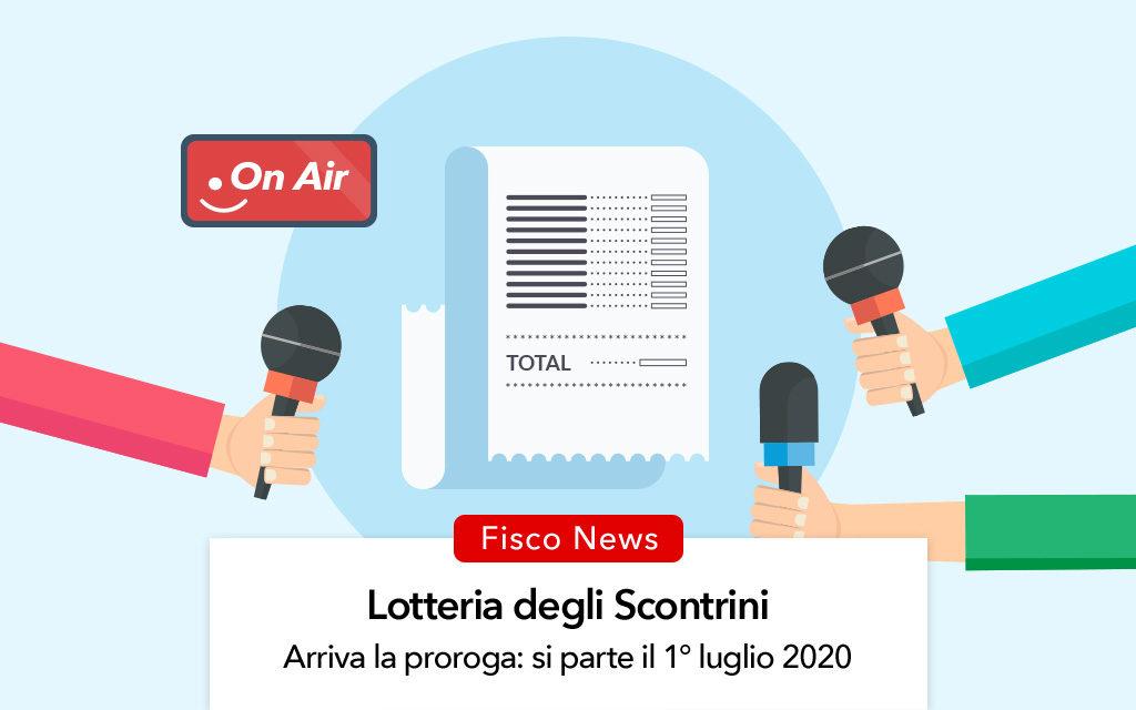 Lotteria degli scontrini, arriva la proroga: si parte il 1° luglio 2020